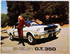 1966 Shelby GT350 Sales Brochure