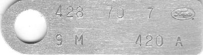 Classic Mustang Dataplate Decoder