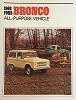 66 Bronco Sales Brochure