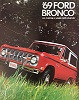69 Bronco Sales Brochure