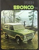 74 Bronco Sales Brochure