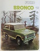 75 Bronco Sales Brochure