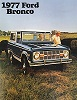 77 Bronco Sales Brochure