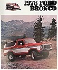 78 Bronco Sales Brochure