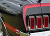1969 MACH 1 Stripe Kit - Red with Gold Stripe